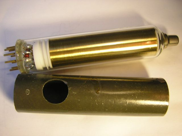 "Disassembled ""Ohmart's tube"" from EDOS"