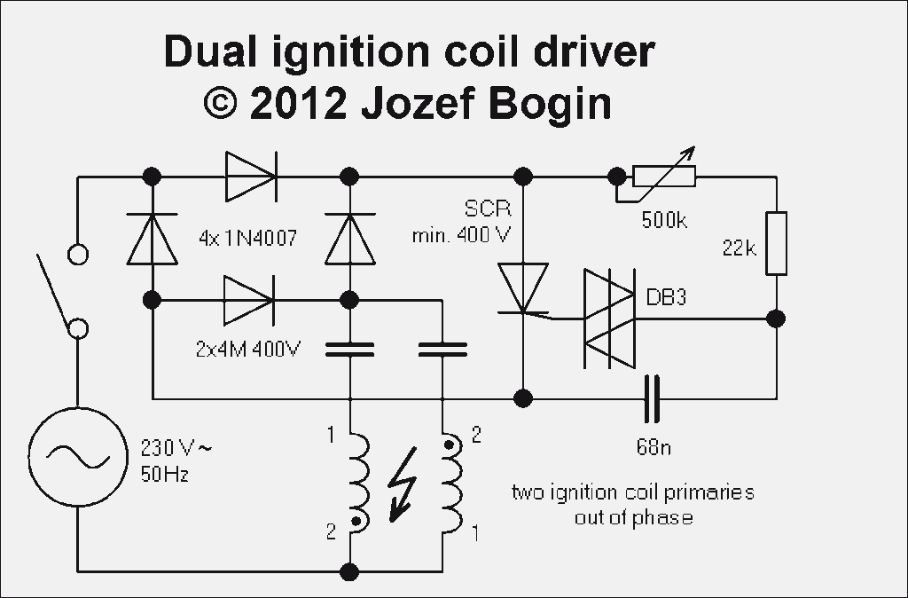 Dual ignition coil driver schematic