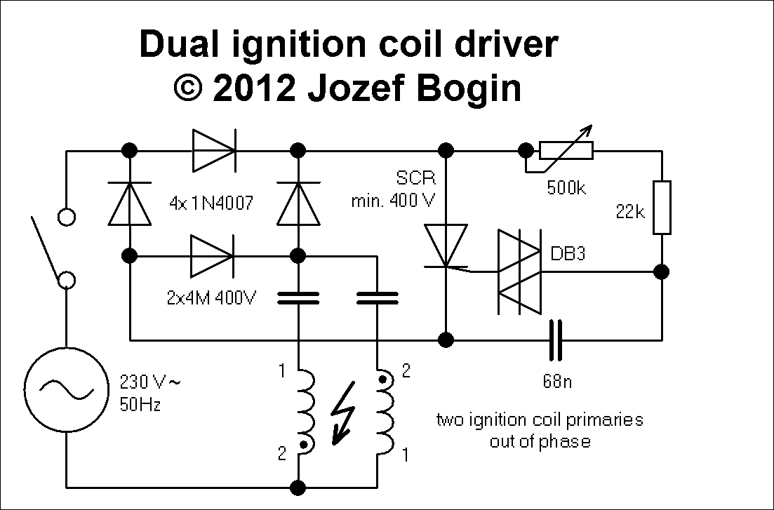 igncoil dual ignition coil driver jozef bogin, jr Coil Wiring Diagram at bakdesigns.co