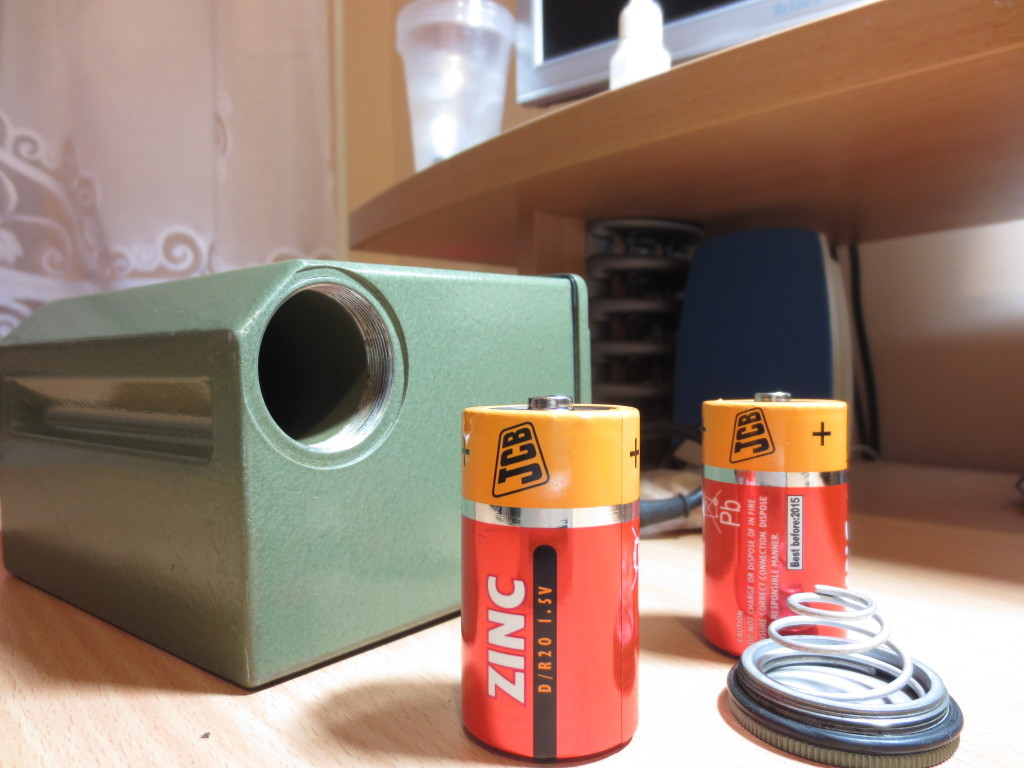 RBGT-62 battery compartment